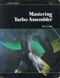 Mastering Turbo Assembler 1st Edition Book - Front Cover