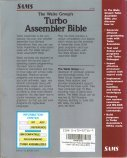 The Waite Group's Turbo Assembler Bible - Back Cover