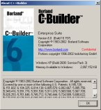 C++Builder 6 Enterprise About Box