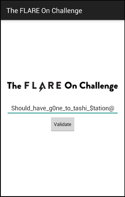 Flare-On 2015 Challenge #6 - Entering Cracked Password