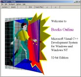 Microsoft Visual C++ 1.1 Books Online Help Library Application
