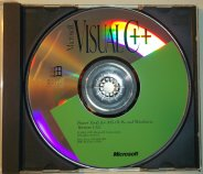 Microsoft Visual C++ 1.52c CD Front (16-bit)