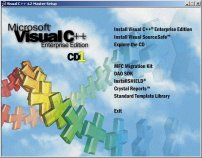 Microsoft Visual C++ Enterprise Setup CD 1