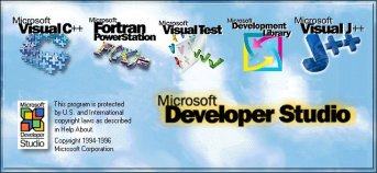 Microsoft Visual C++ 4.2 Enterprise Splash Screen