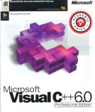 Microsoft Visual C++ 6.0 Professional Box Front