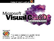 Microsoft Visual C++ 6.0 Professional Splash Screen