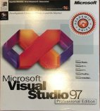 Microsoft Visual Studio 97 Professional Box Front