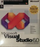 Microsoft Visual Studio 6.0 Professional Box Front